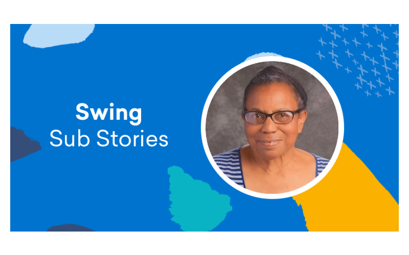 Swing Education substitute teacher Mamie Dinani